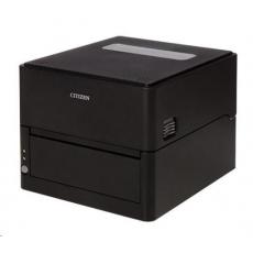 Citizen DT tiskárna etiket CL-E300 LAN, USB, Serial, 203dpi, Black