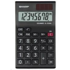 SHARP kalkulačka - EL-310ANWH - černá