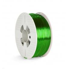 VERBATIM 3D Printer Filament PET-G 2.85mm, 123m, 1kg green transparent