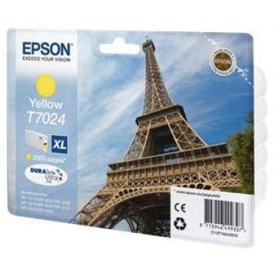 EPSON Ink bar WorkForce-4000/4500 - Yellow XL - 2000str. (21,3 ml)