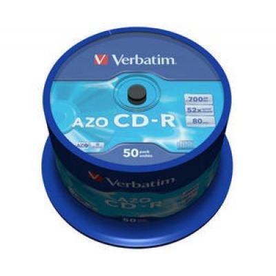 VERBATIM CD-R(50-Pack)Spindle/Crystal/DLP/52x/700MB