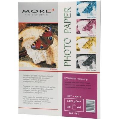 ARMOR Fotopapír MORE Harmony 180g/m2; matt, 25 listů, A4