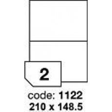 RAYFILM Štítky 210x148 univerzálne biele *R01001122F, 1000 listů