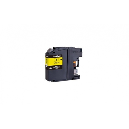 BROTHER INK LC-525XLY yellow (ISO / IEC 24711) - DCP-J100 / DCP-J105 / MFC-J200 cca 1300